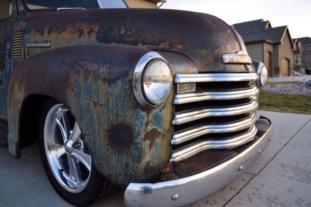 1948 chevy truck 3100 patina shop truck c10 apache not air - Craigslist quad cities farm and garden ...