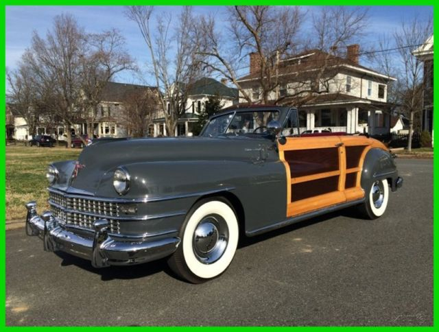 1948 Chrysler Town & Country 1948 Chrysler New Yorker Town & Country