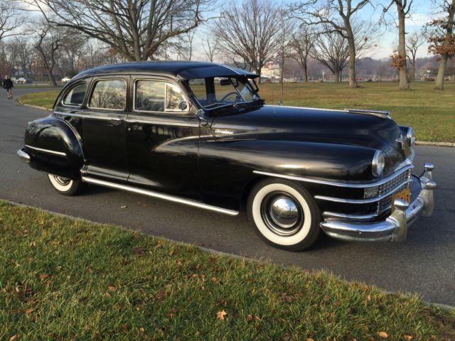 1948 Chrysler Windsor 6 Series C38 4 Door Sedan For Sale