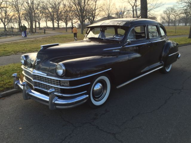 1948 chrysler windsor 6 series c38 4 door sedan for sale