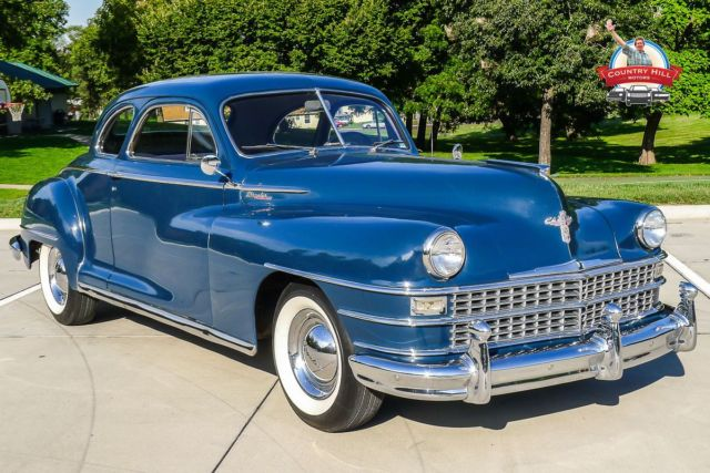 1948 Chrysler Windsor Club Coupe For Sale Photos