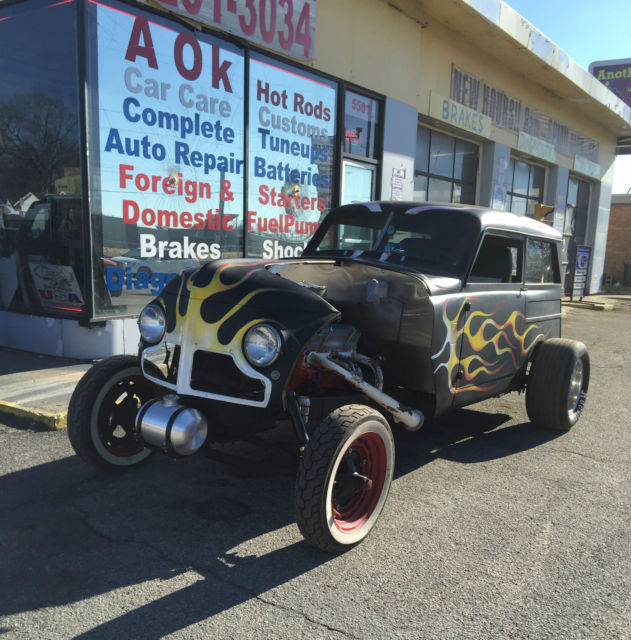 1948 Other Makes Gasser Rat Rod Wagon
