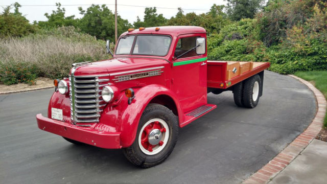 1948 Diamond T Flat Bed Truck, 1-Ton Model 306 Restored