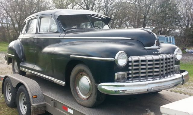 1948 Dodge Deluxe 4 Door Sedan Barn Find Suicide Doors
