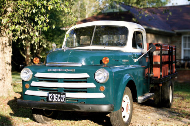 1948 Dodge Pilot house 1 ton dually for sale: photos ...  1953 Dodge Flatbed Truck