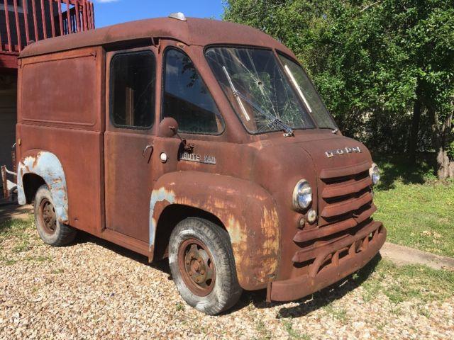 1948 Dodge Route Van Super Solid Rare Shorty Stepvan Extra Parts