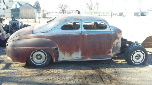 1948 Ford 2 Door Business Coupe Chopped Top Custom Rod Rat