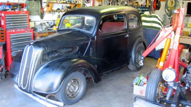 1948 Ford Anglia Hot Rat Rod Gasser Original Steel Thames Austin Popular Drag for sale: photos