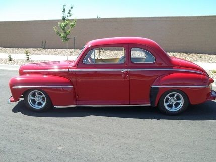 1948 ford coupe hot rod street rod for sale photos technical specifications description. Black Bedroom Furniture Sets. Home Design Ideas