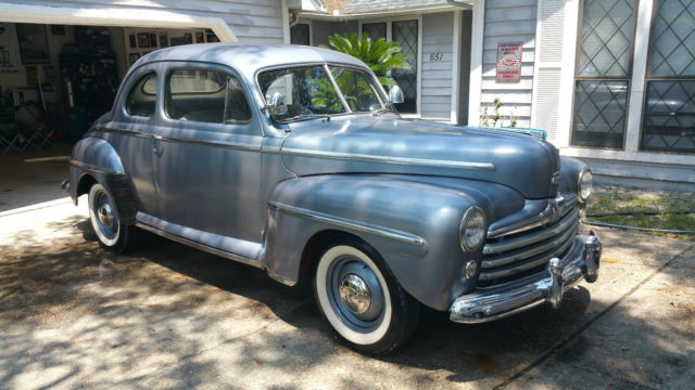 1948 ford deluxe club coupe for sale photos technical specifications description. Black Bedroom Furniture Sets. Home Design Ideas