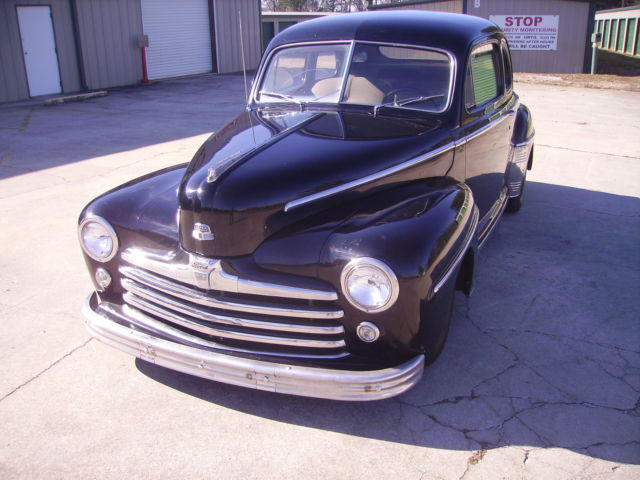 1948 ford deluxe club coupe all ford 302 v8 p b mustang ii frontend ford rear for sale photos. Black Bedroom Furniture Sets. Home Design Ideas