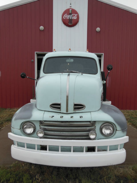 1948 Ford f-6 COE truck