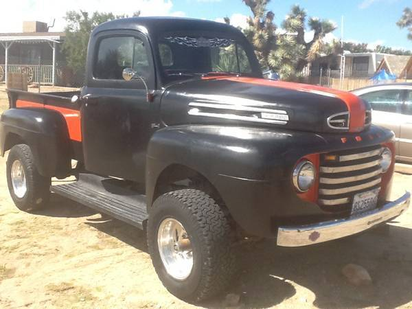 1948 Ford F1 Harley Davidson Tribute Truck For Sale Photos