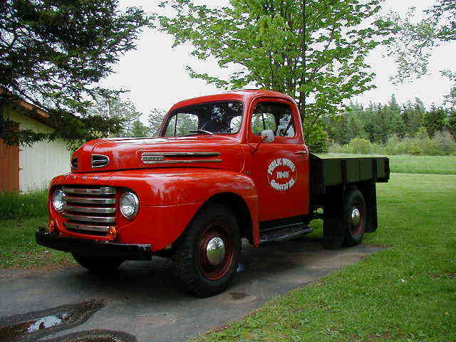 1948 Ford Other Pickups F-68  (Canadian equivalent to F-3 6800 lb GVW)