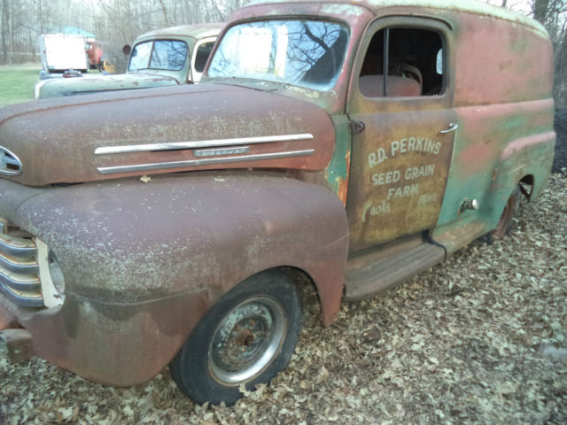 1e62dd5c9a 1948 FORD PANEL TRUCK