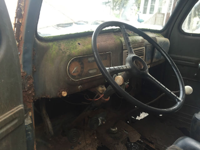 1948 Ford Panel Truck Project Barn Find F1 Sedan Delivery