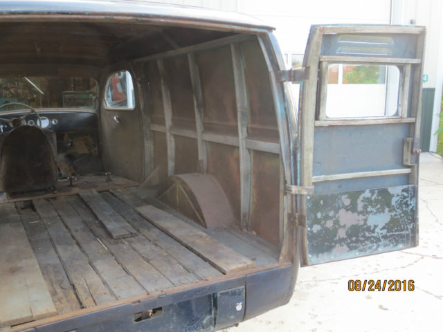 1948 Ford Thames Panel Truck Gasser Project 1932 1940