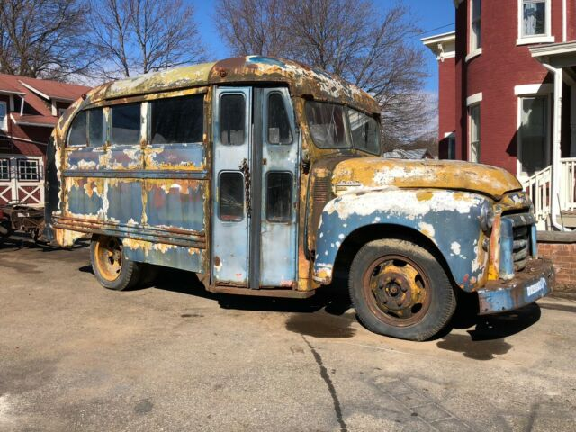 1948 GMC Chevrolet School Bus Shorty Short Hot Rod Rat Rod