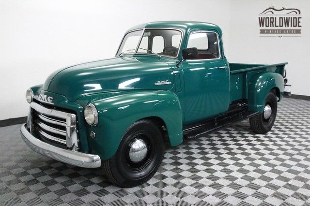 1948 GMC PICKUP TRUCK RESTORED AND EXTREMELY CLEAN! RARE 5 WINDOW