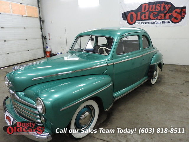 1948 Ford Super Deluxe Runs Drives Body Int VGood Cruise Ready