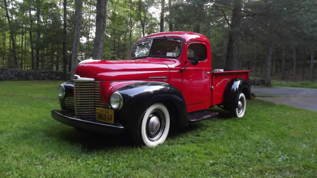 1948 international kb2 3 4 ton pickup truck for sale photos technical specifications description. Black Bedroom Furniture Sets. Home Design Ideas