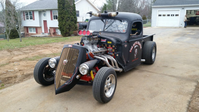 1948 International Harvester Rat Rod Pick Up Truck none