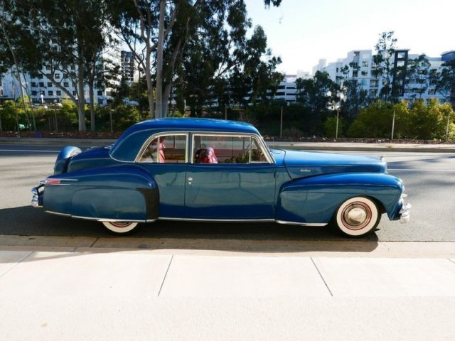 1948 Lincoln Continental 2 door coupe for sale photos technical