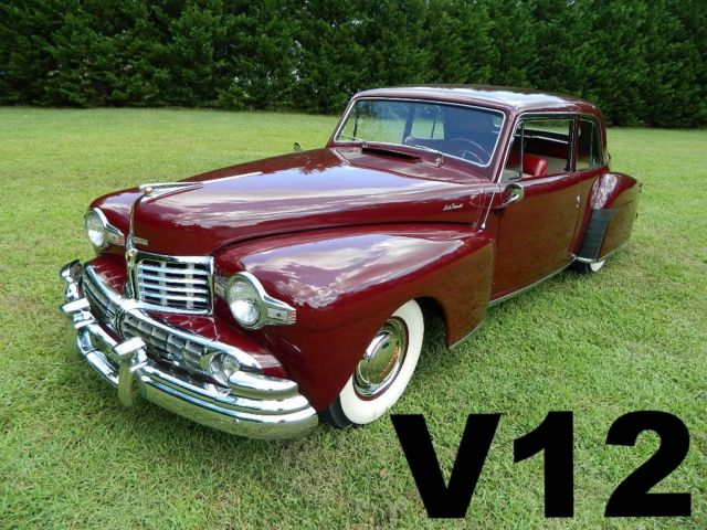 1948 Lincoln Continental Continental V12 Coupe
