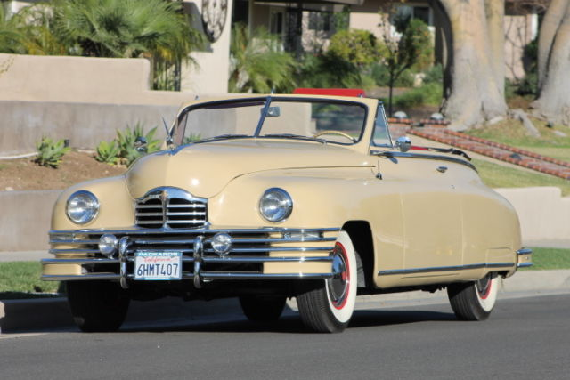 1948 Packard Convertible Super 8 Victoria