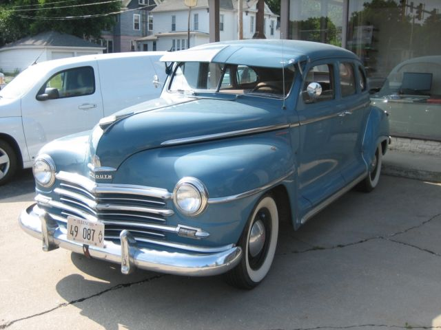 1948 plymouth deluxe 4 door sedan for sale photos