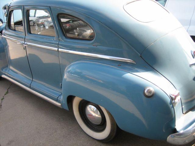 Plymouth Deluxe Door Sedan on 1948 Plymouth Fuel Tank Size