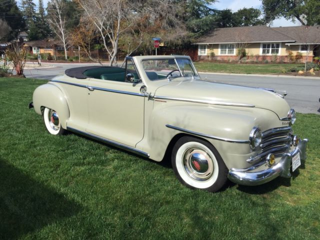 1948 Plymouth Other CONV