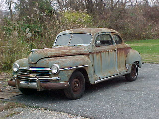 1948 Plymouth Special Deluxe Coupe Rat Rod Project Car