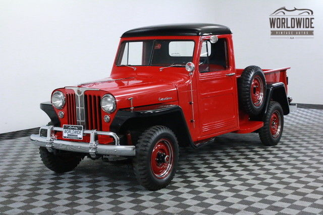 1948 Willys PICKUP RESTORED HEAVILY FACTORY OPTIONED SHOW OR GO