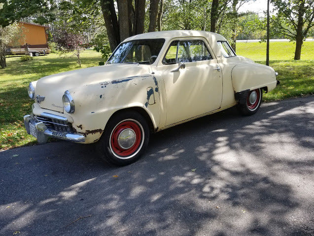 Gentil 1948 Studebaker Starlight Coupe, In Storage For Years, Solid For The Year