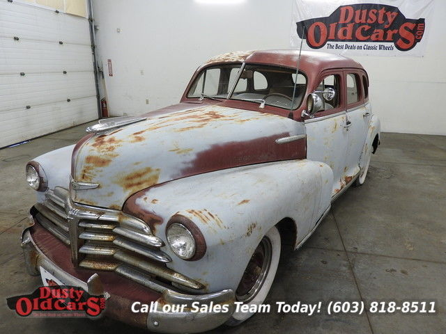 1948 Chevrolet Stylermaster Runs Project Car Complete Needs Resto or Hot Rod