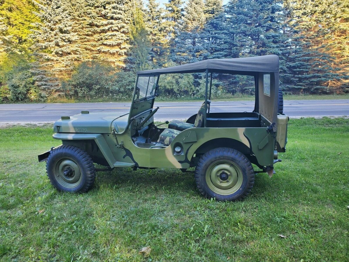 1948 Willys CJ2A Base Model