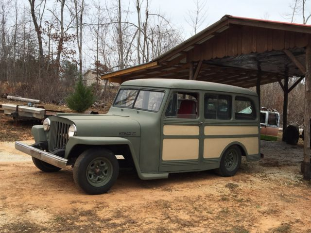 1948 Willys Jeep Overland Station Wagon