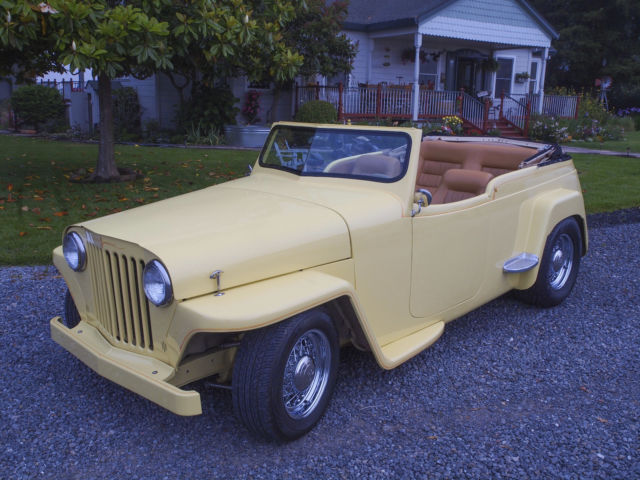 1948 Willys Jeepster Hot Rod
