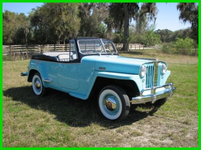 1948 Willys Jeepster concours Restoration