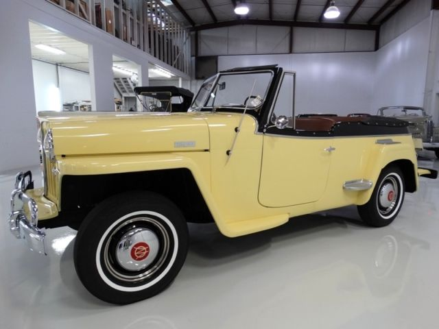 1948 Willys Jeepster Convertible, BEAUTIFUL RESTORATION!