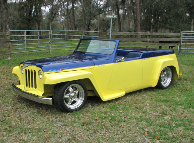 1948 Willys Jeepster All steel Build