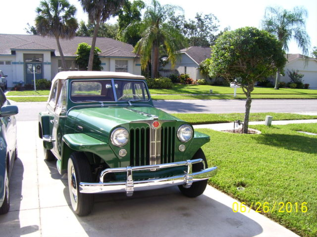 1948 Willys Jeepster VJ2