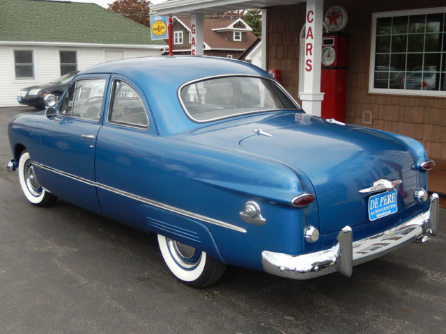 1949 49 ford 2 door custom coupe v8 manual for sale
