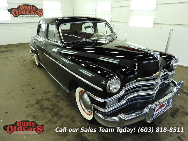 1949 Chrysler New Yorker Runs Drives Body Inter VGood 251 I6