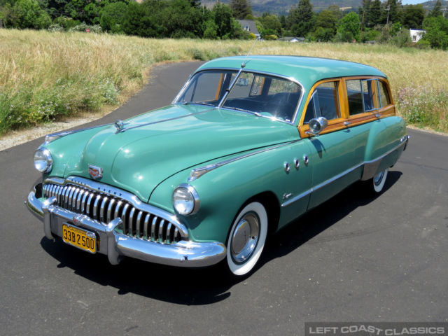 1949 Buick 50 Super Woody