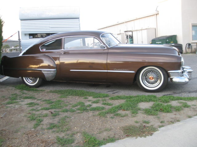 1949 cadillac 62 series sedanette aka 39 fastback 39 for sale photos technical specifications. Black Bedroom Furniture Sets. Home Design Ideas