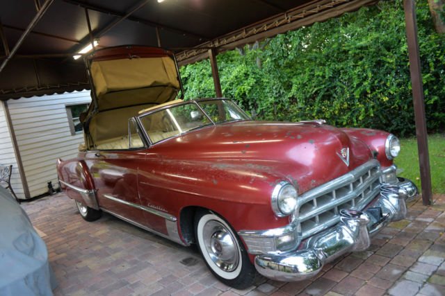 1949 Cadillac Other Convertible BARN FIND SEE VIDEO!!