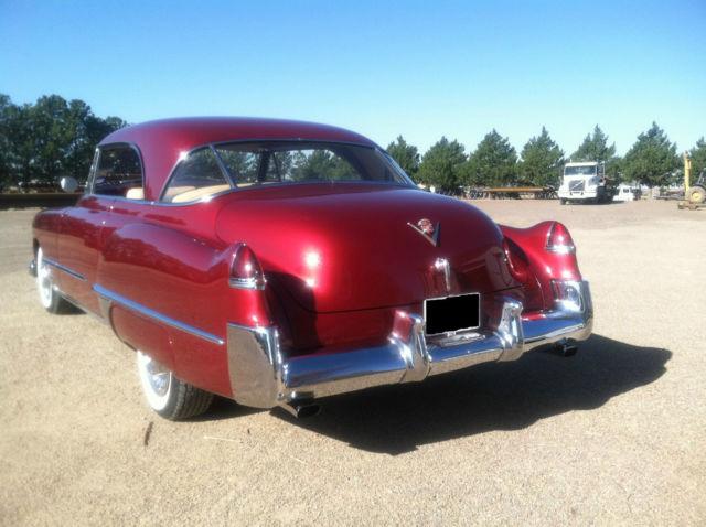 1949 Cadillac Coupe DeVille for sale photos technical
