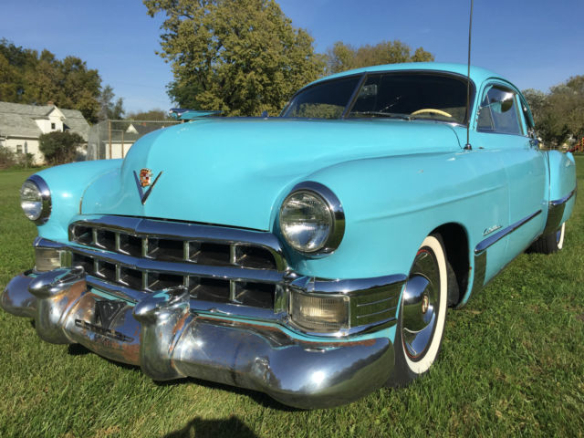 1949 Cadillac Coupe Series 62 Fastback For Sale Photos
